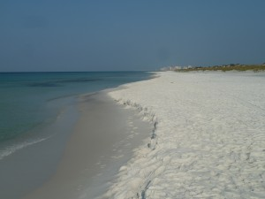 La plage paradisiaque de Fort Walton
